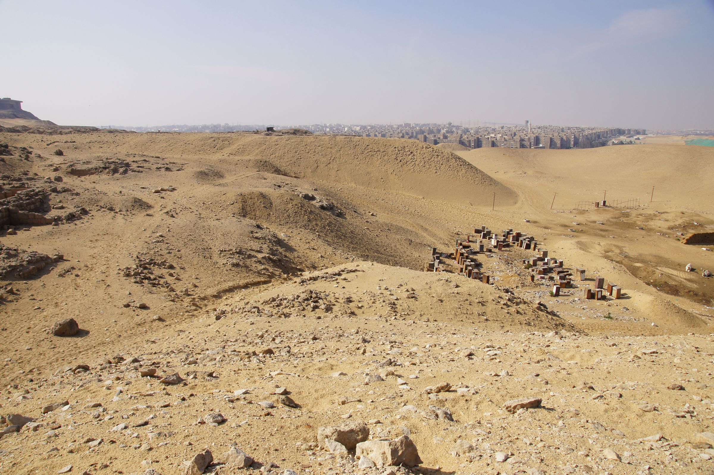 General View: Site: Giza; View: Cemetery G 2000