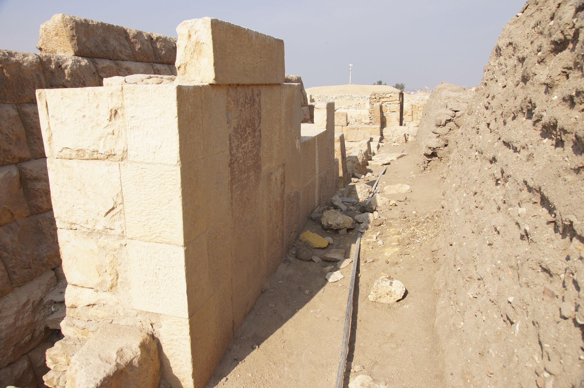 Western Cemetery: Site: Giza; View: G 2364, G 2365, G 2366, G 2360, G 2371