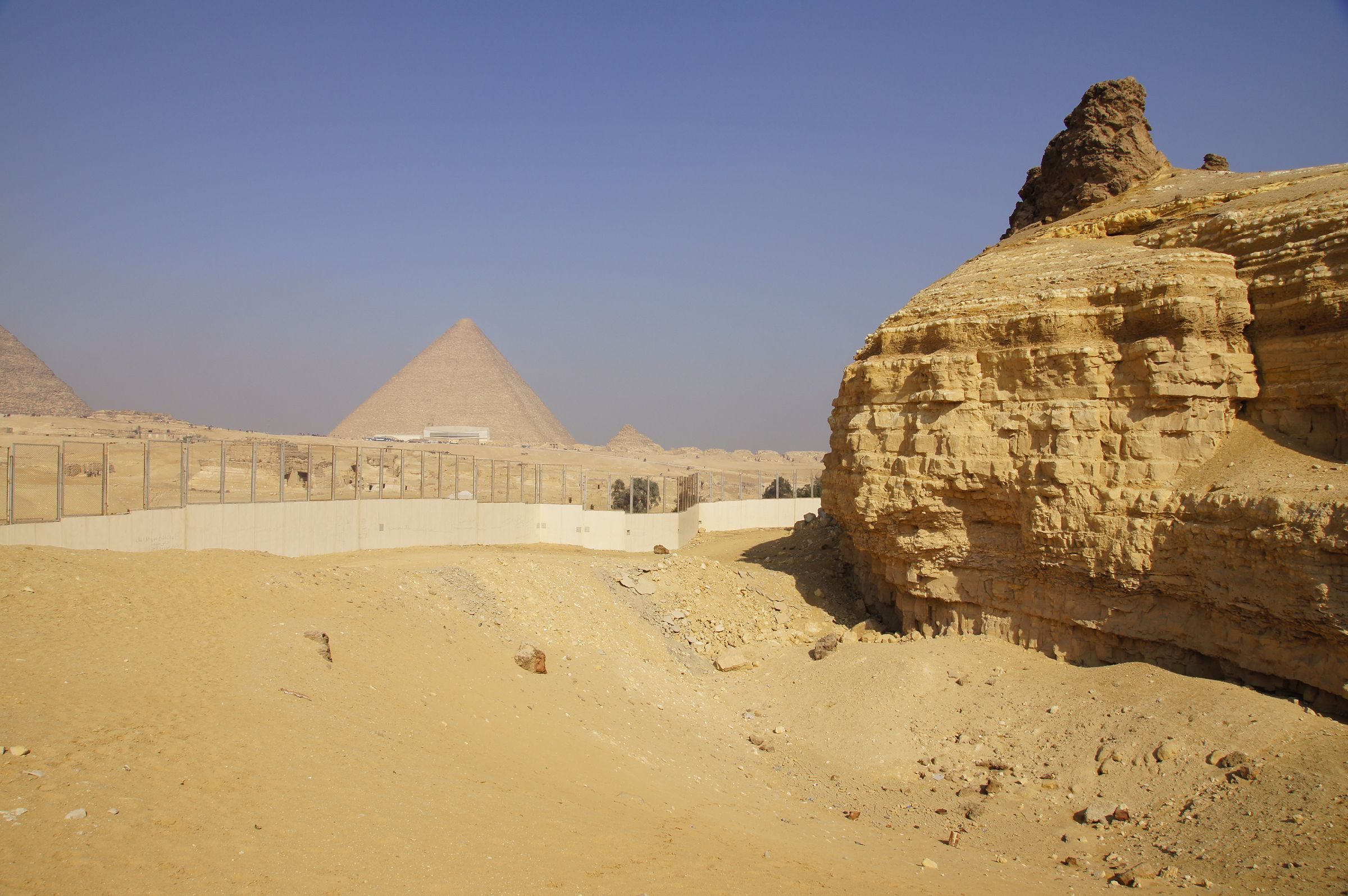 General View: Site: Giza; View: Southern Mount, Khufu Pyramid