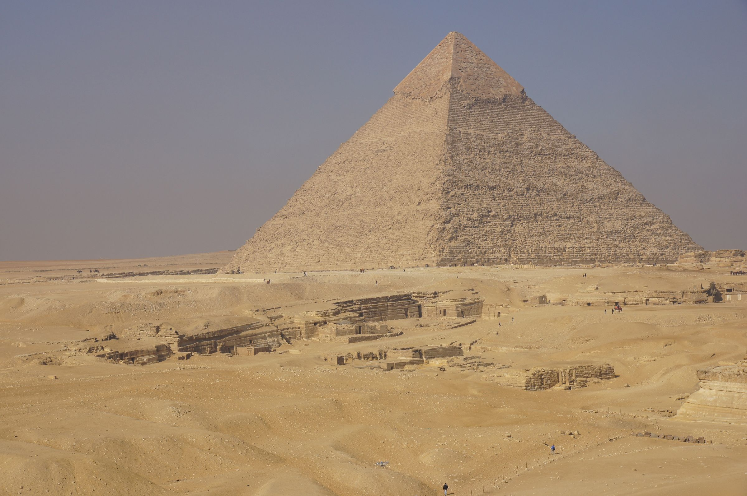 Central Field (Hassan): Site: Giza; View: G 8020, G 8024, G 8026, G 8028, G 8056, G 8064, G 8070, G 8066, G 8090, G 8126, G 8130, G 8250, G 8260, G 8240(?), G 8270(?), G 8310, G 8400