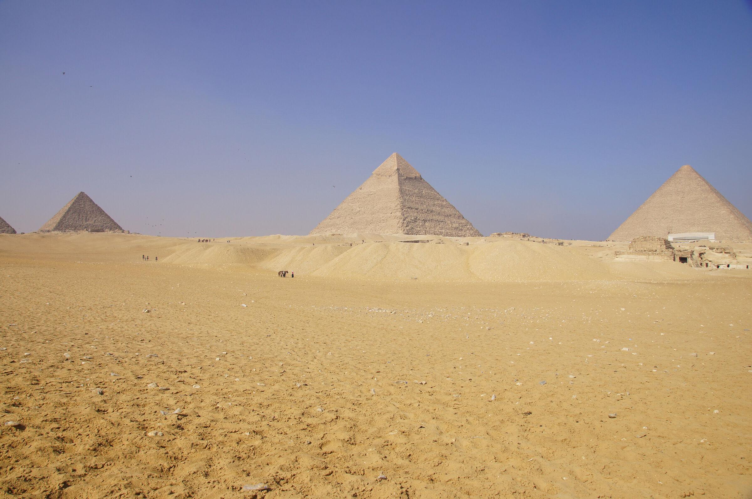 General View: Site: Giza; View: Giza Plateau