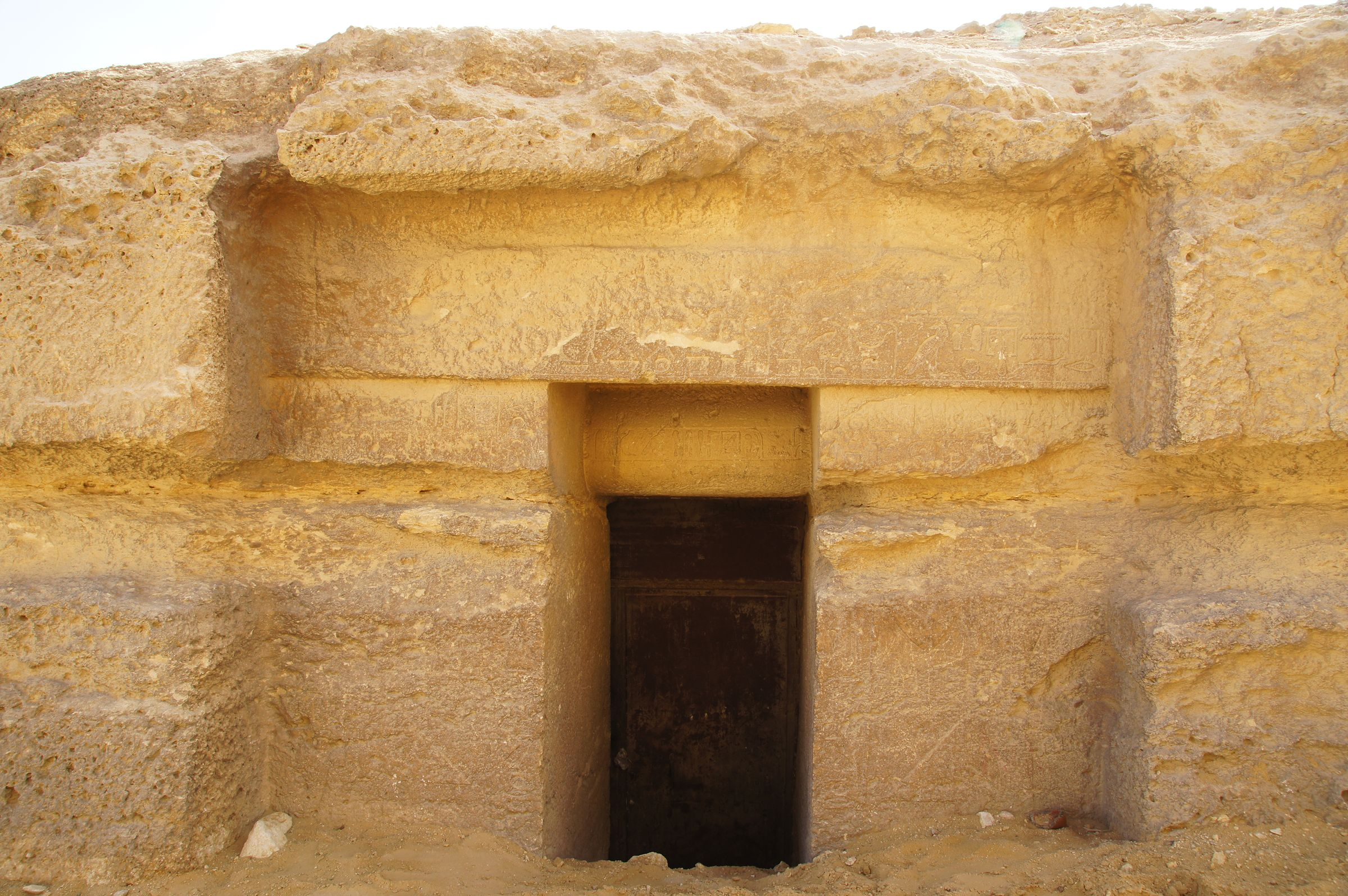Central Field (Hassan): Site: Giza; View: G 8034