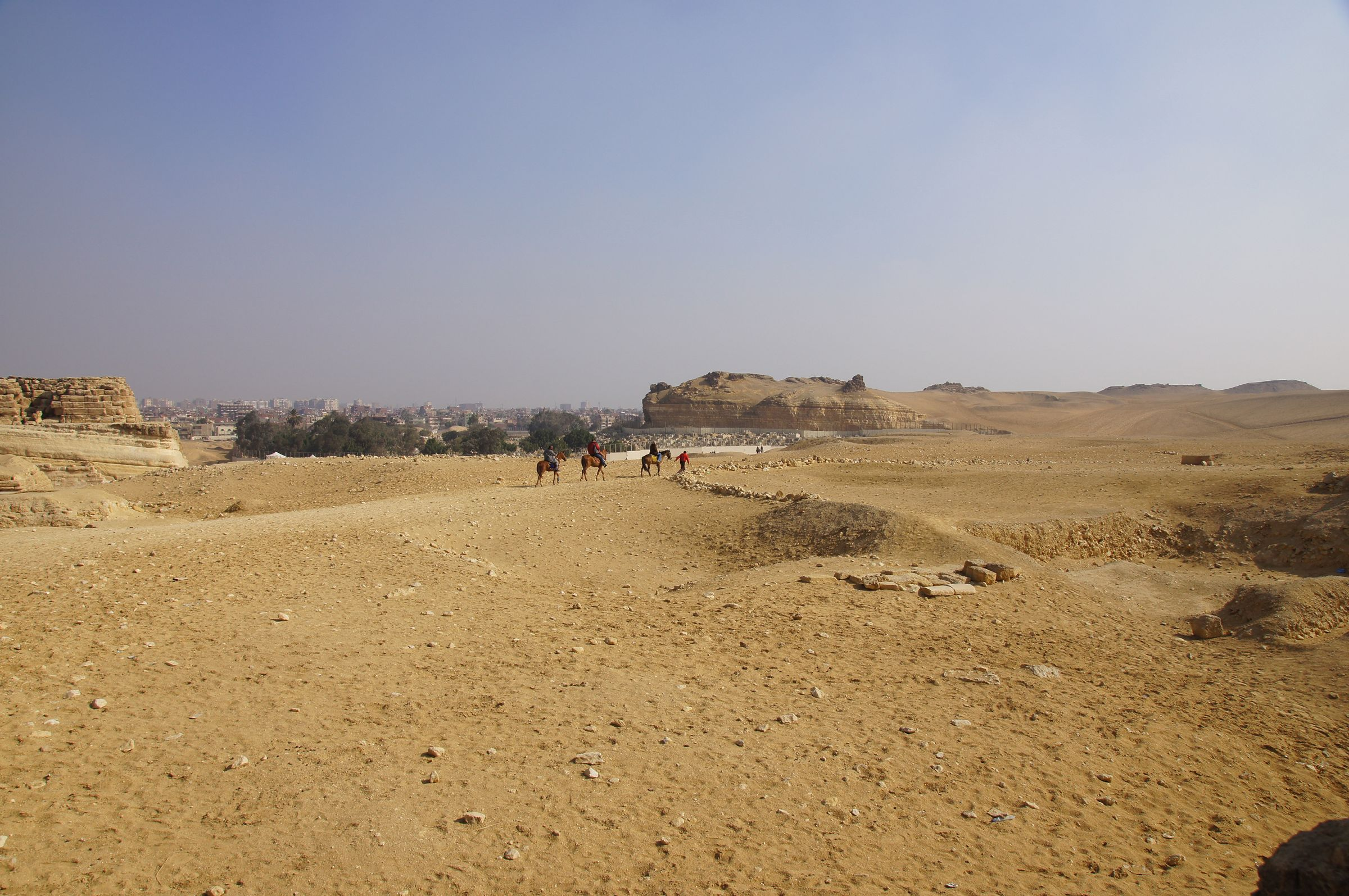 Central Field (Hassan): Site: Giza; View: G 8400, Southern Mount