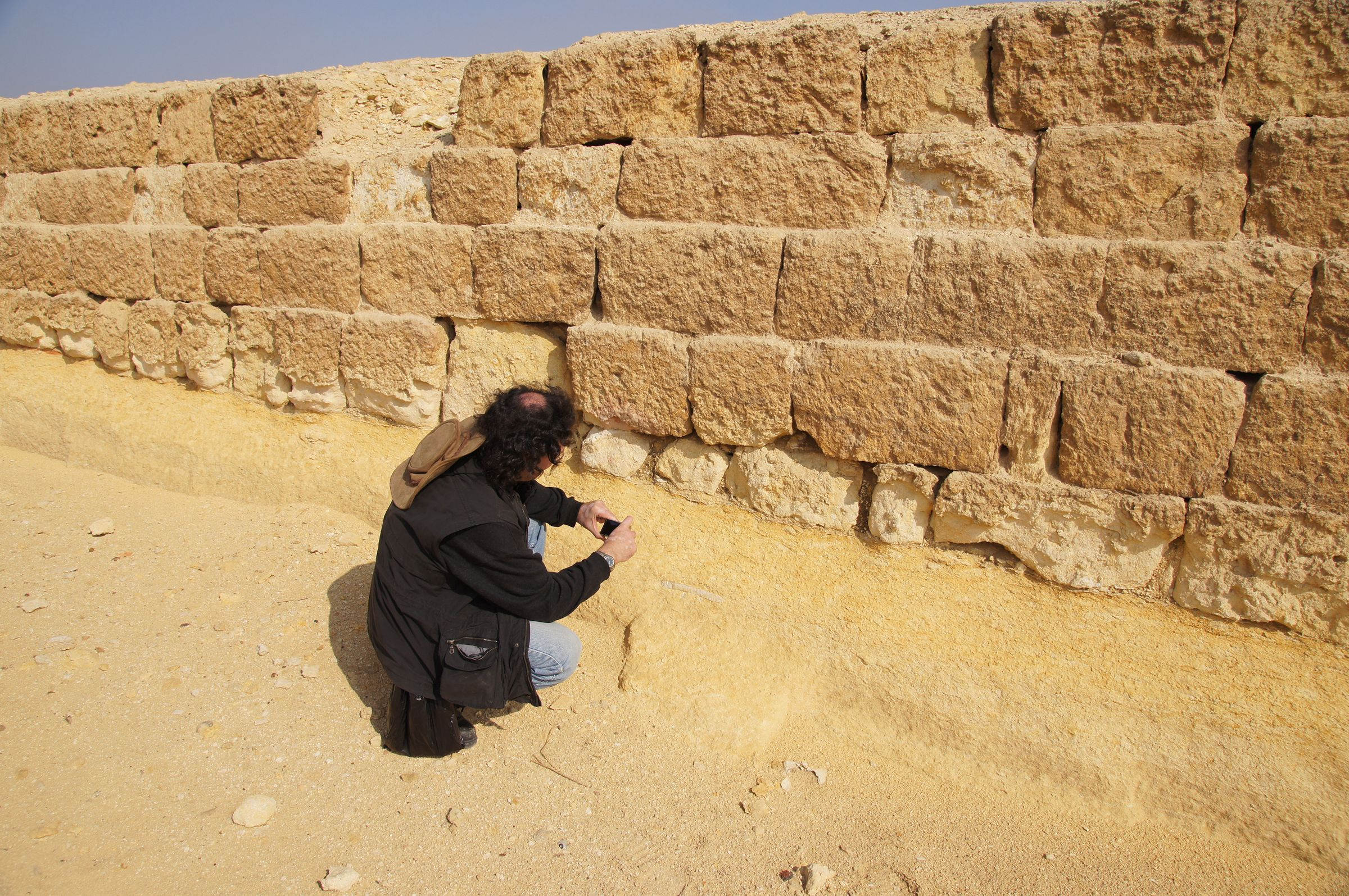 Central Field (Hassan): Site: Giza; View: G 8240