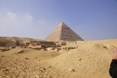 Central Field (Hassan): Site: Giza; View: G 8070, G 8066, G 8080, G 8090, G 8126, G 8124, G 8130, G 8250, G 8240, G 8242, G 8260, G 8270, Khafre Pyramid