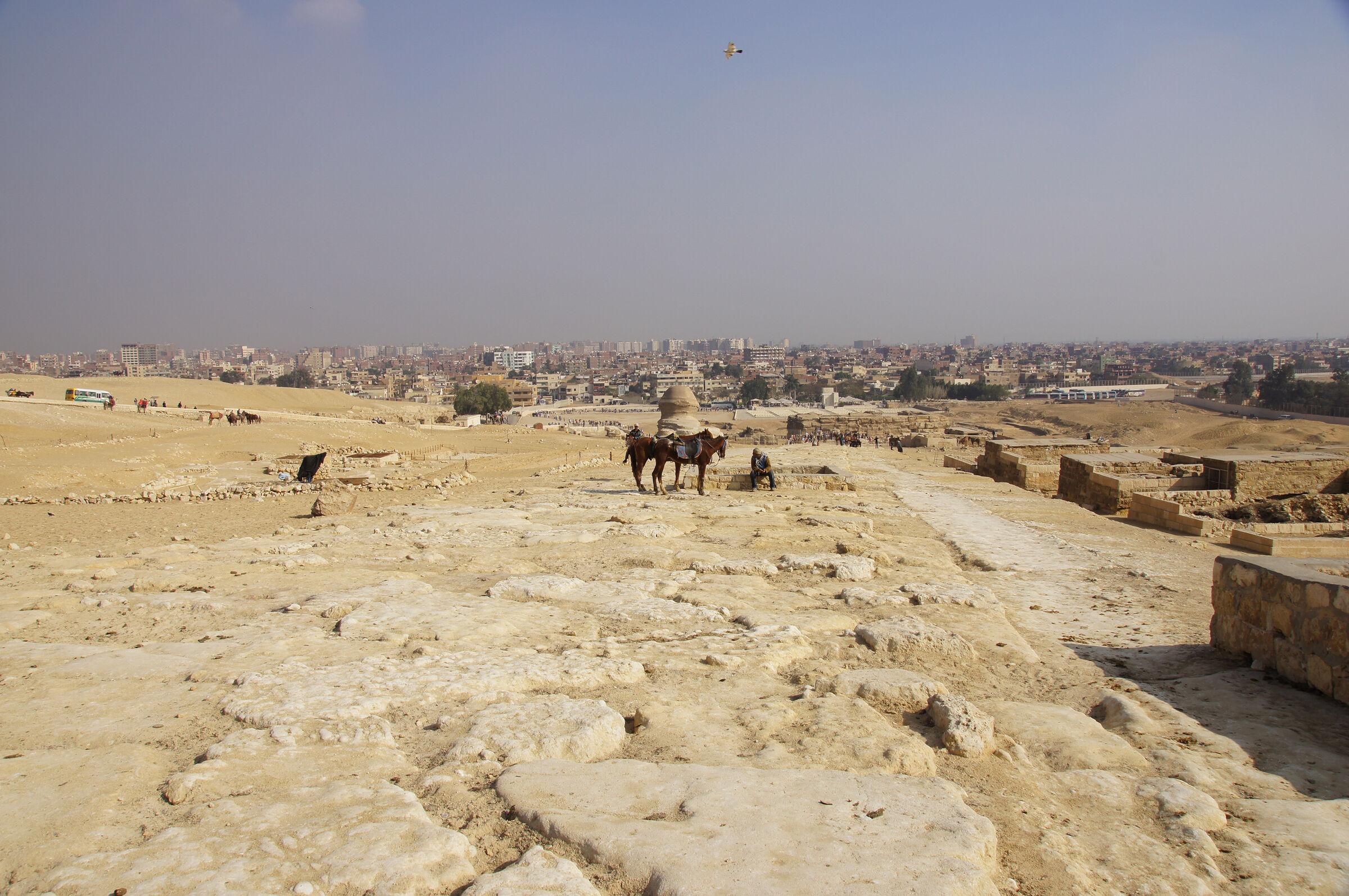 Khafre Pyramid Complex: Site: Giza; View: Khafre Causeway, G 8504, G 8522, G 8532