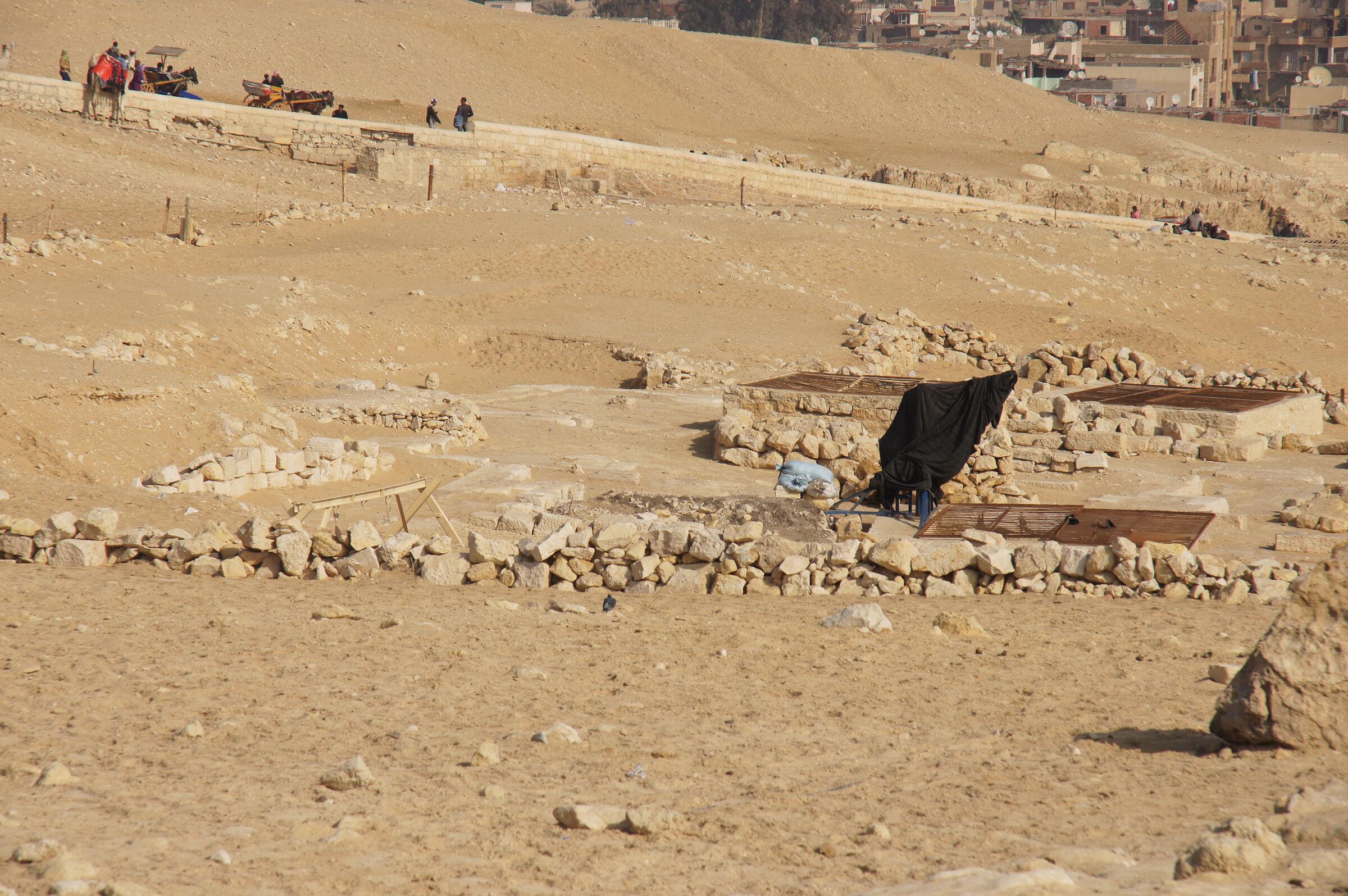 Khafre Pyramid Complex: Site: Giza; View: Khafre Causeway, G 9500?