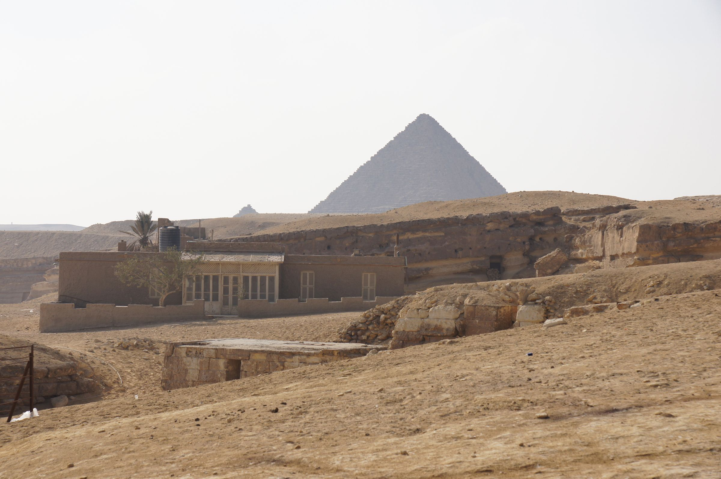 Central Field (Hassan): Site: Giza; View: G 8290, G 8292, G 8164