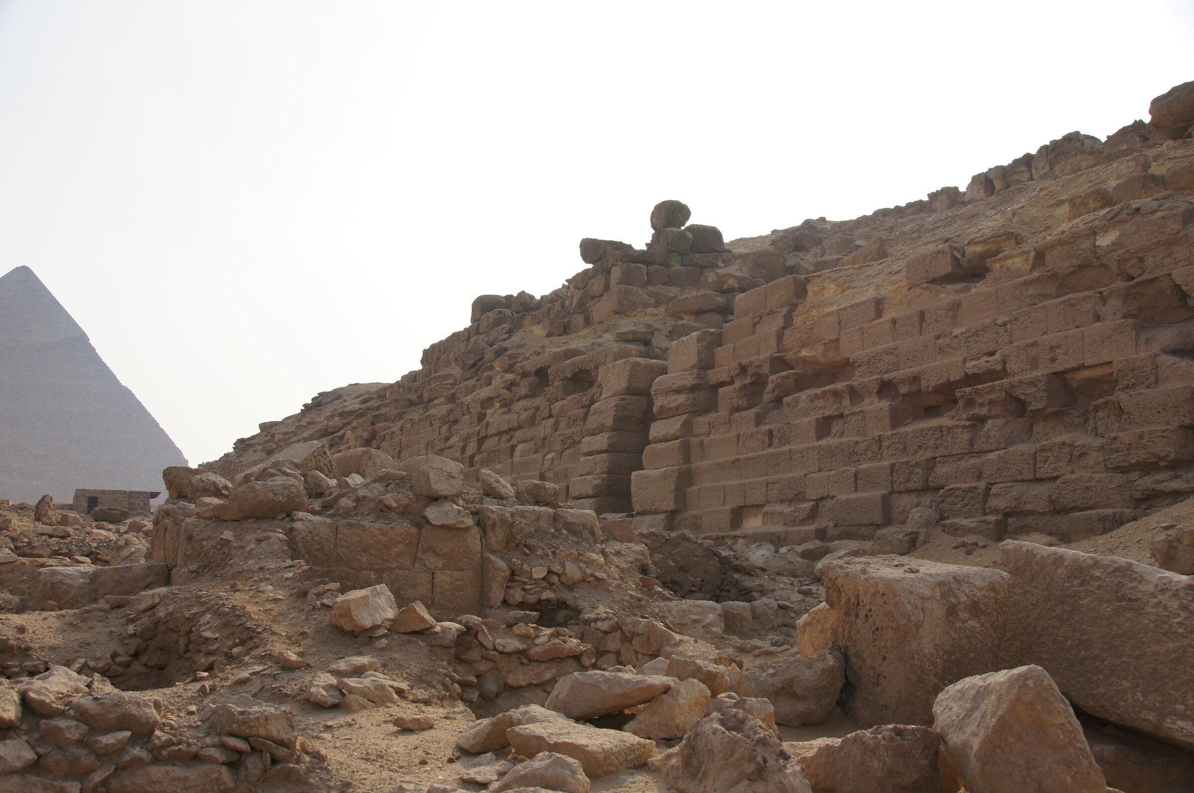 Western Cemetery: Site: Giza; View: Cemetery G 2000, G 2000, G 2501, G 2502