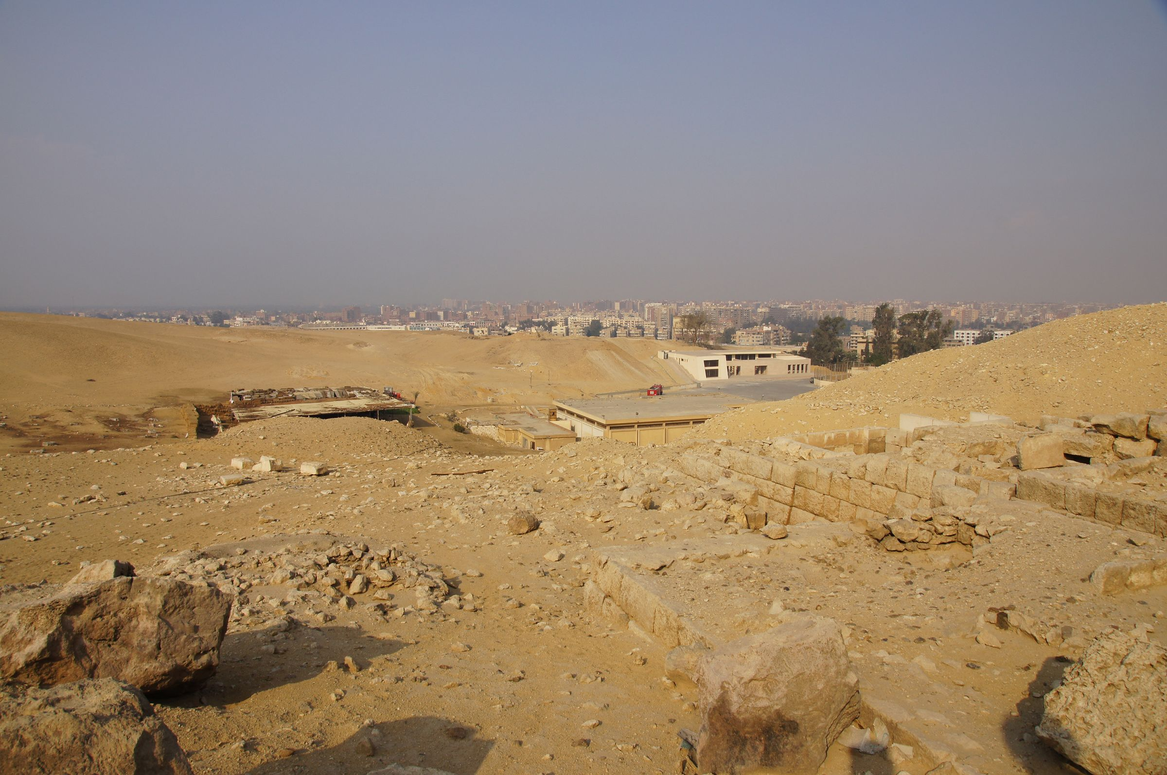 Western Cemetery: Site: Giza; View: G 2095, G 2094, G 2097, G 2096, G 2092+2093