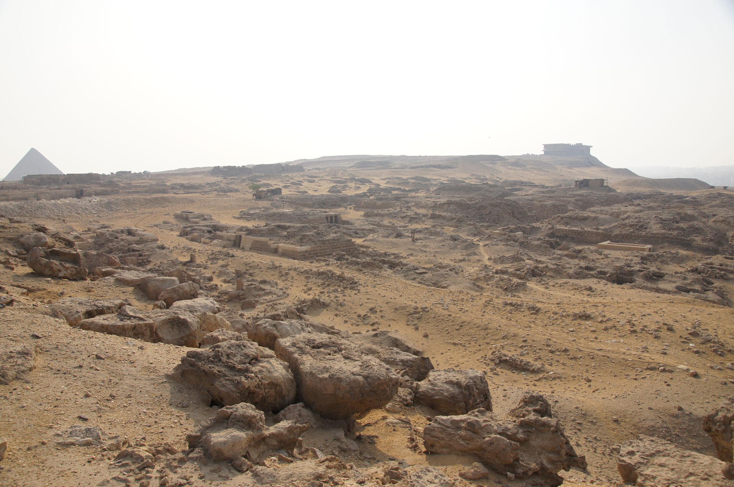 Western Cemetery: Site: Giza; View: Cemetery G 1100, Cemetery G 1200