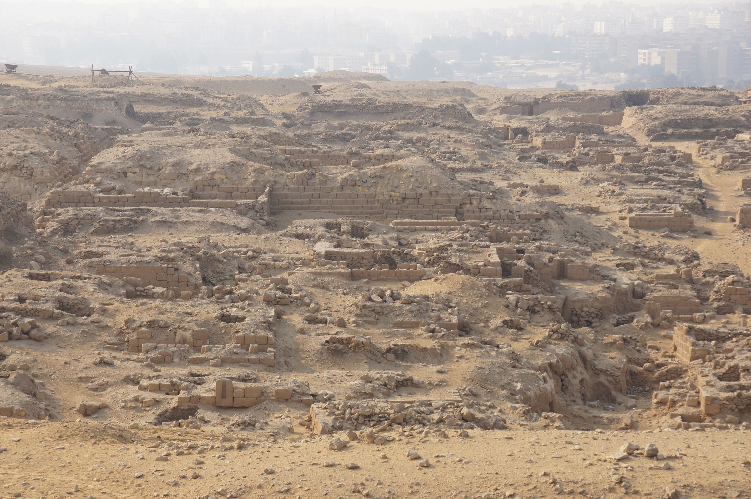 Western Cemetery: Site: Giza; View: Cemetery G 1200