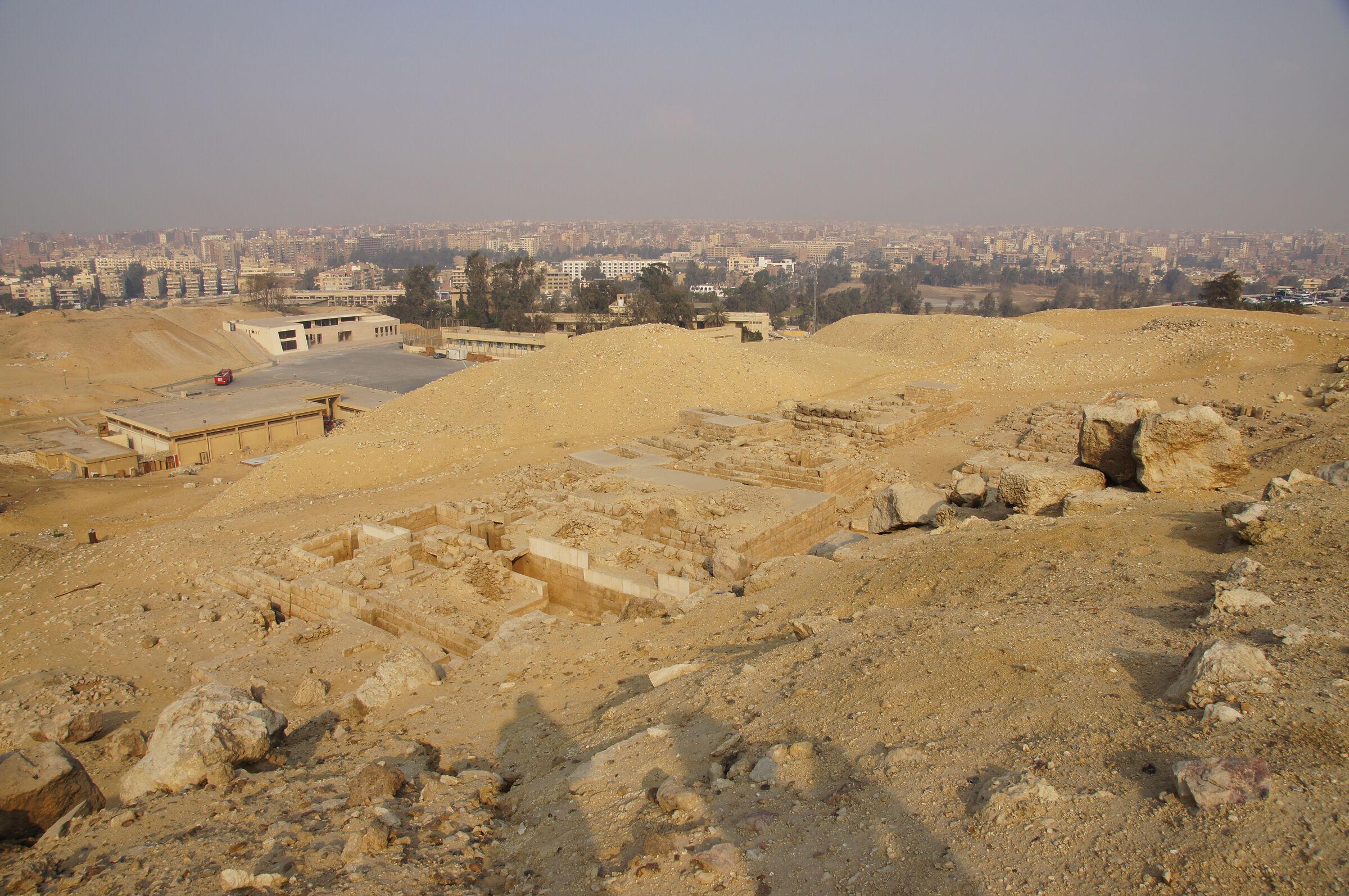 Western Cemetery: Site: Giza; View: G 2095, G 2094, G 2092+2093, G 2096, G 2097, G 2091, G 2088, G 2230+2231