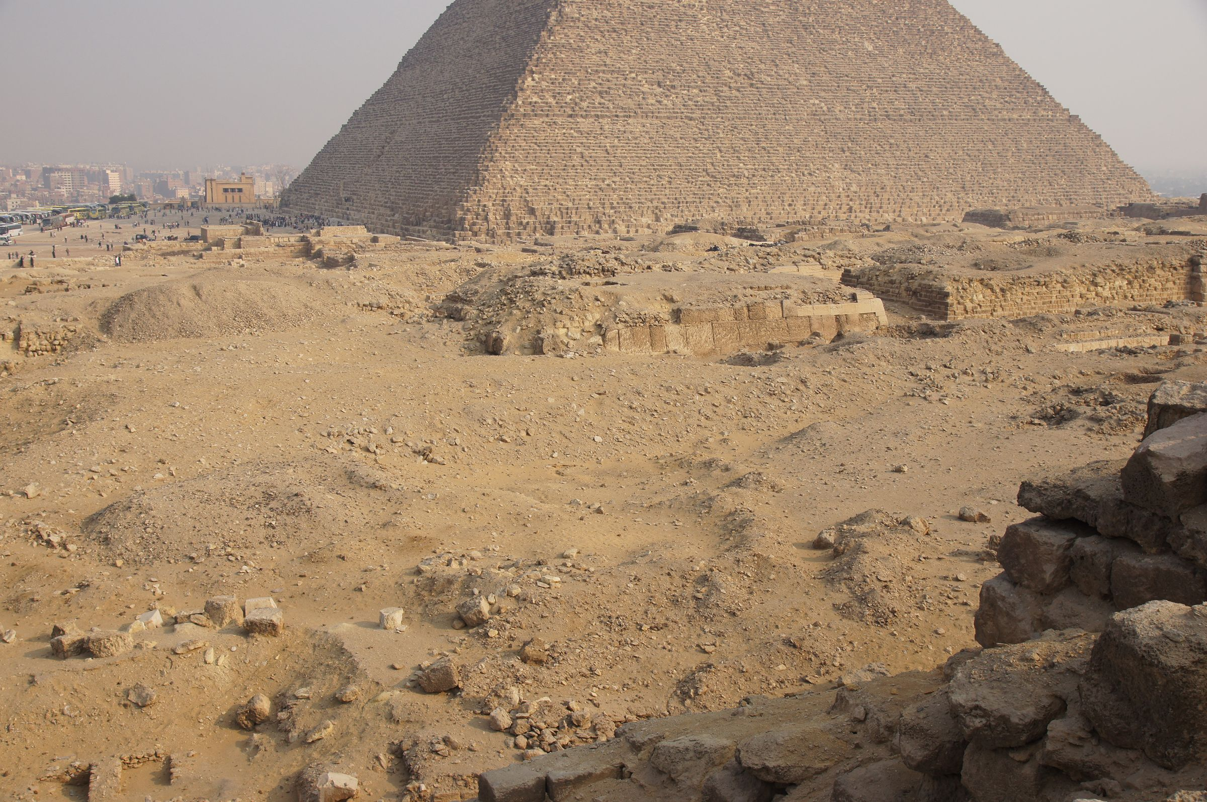 Western Cemetery: Site: Giza; View: G 2110, G 2100