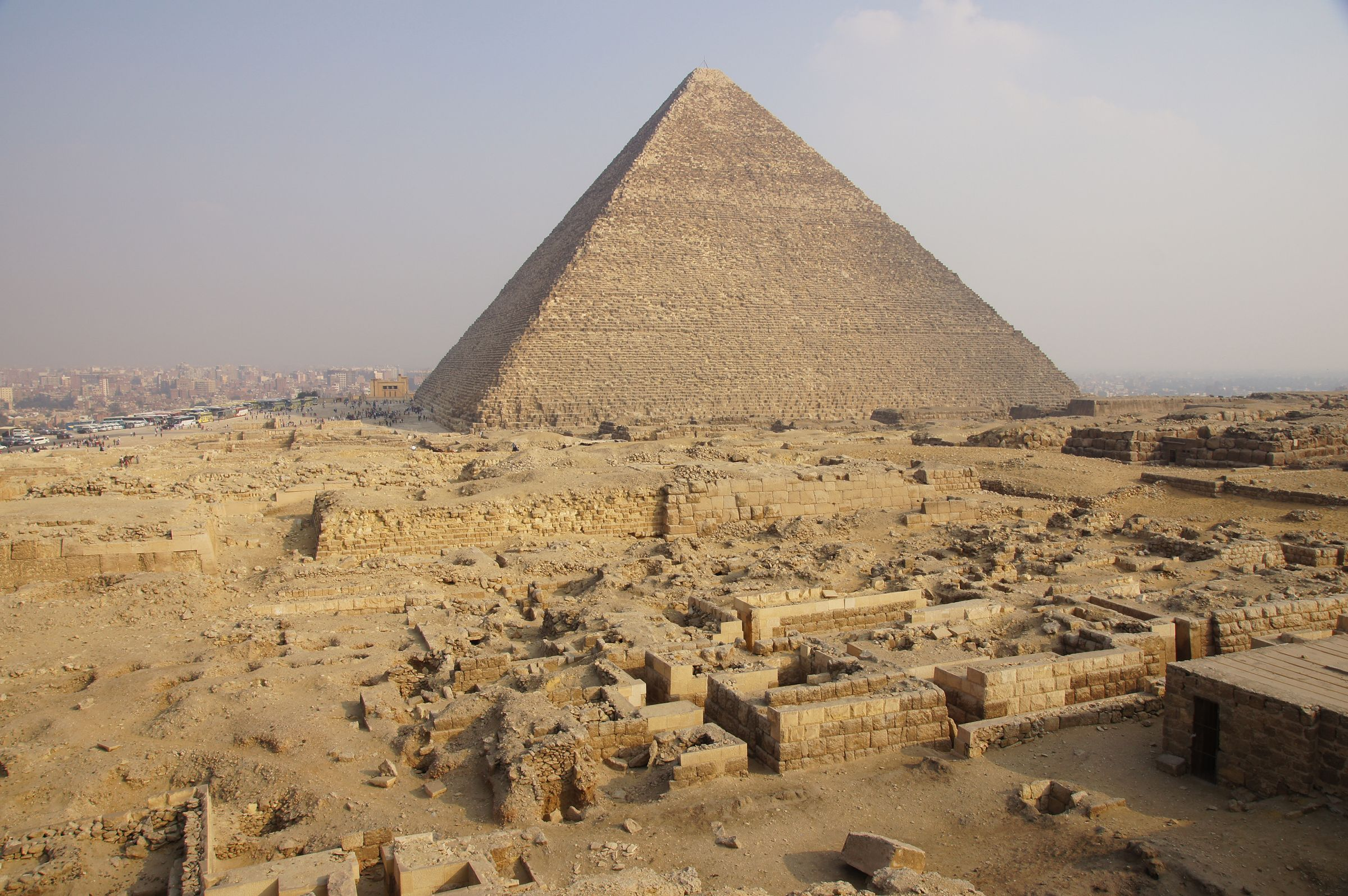Western Cemetery: Site: Giza; View: Cemetery G 2000, G 2110, G 2100, G 2100-I