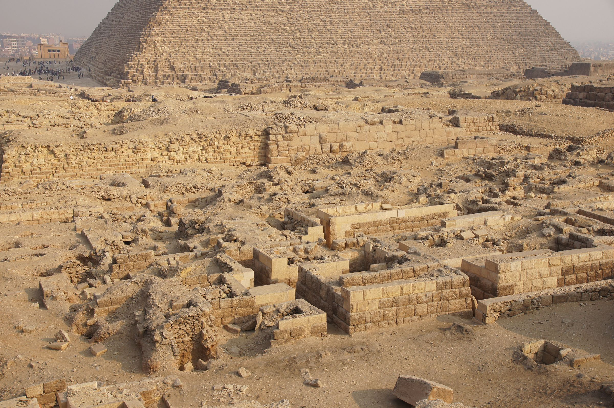 Western Cemetery: Site: Giza; View: Cemetery G 2000, G 2100, G 2100-I