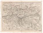 Carte particulière d'Anjou et de Touraine, Copy A ou de la partie méridionale de la Généralité de Tours