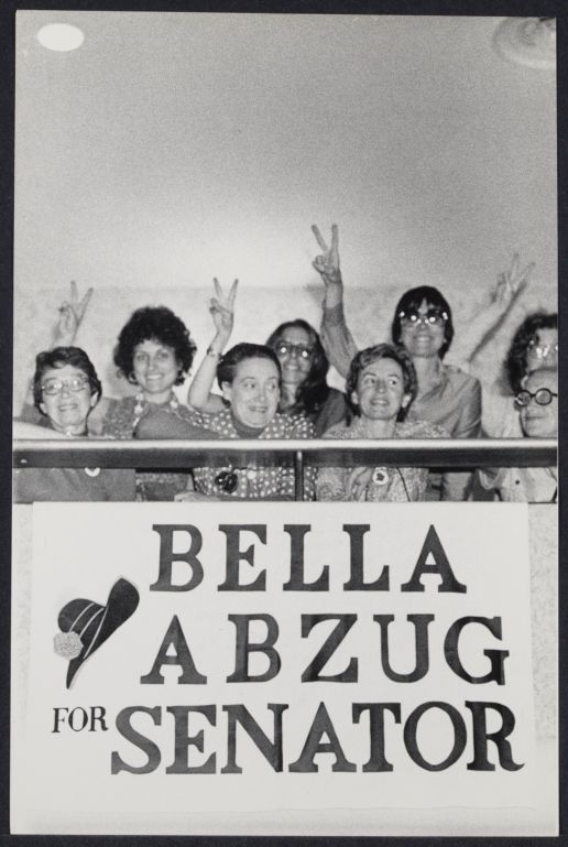Bella Abzug's supporters