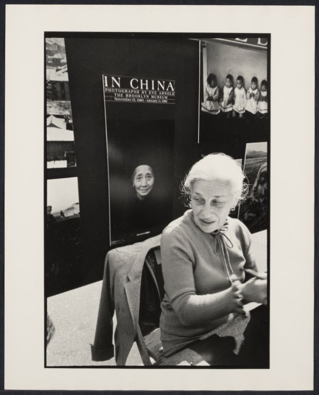 Noted photographer Eve Arnold at book fair