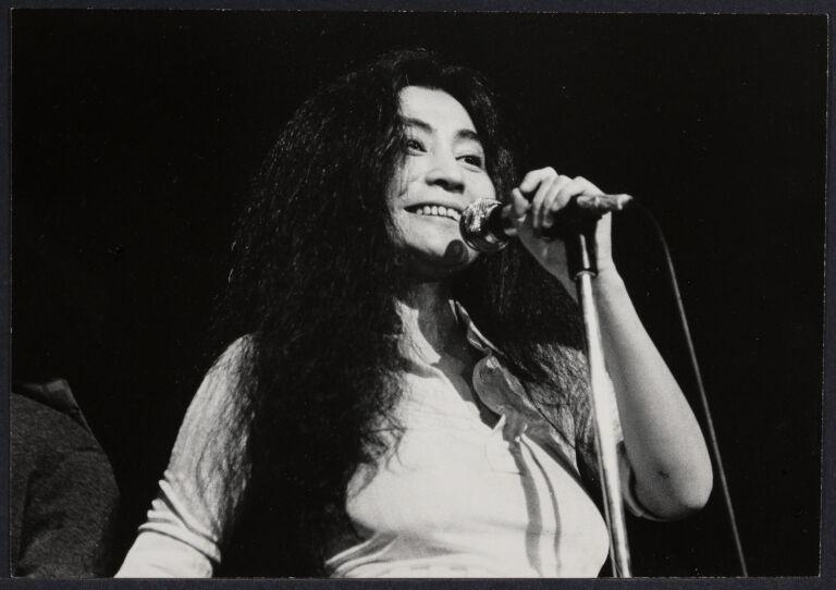Yoko Ono at Town Hall Women's Concert