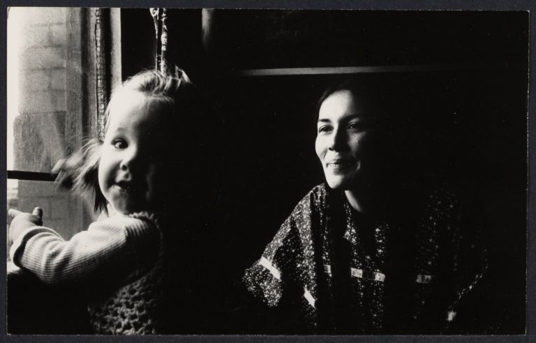 Yvonne Wanrow with 1-year-old daughter Chanti