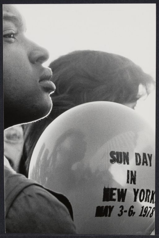 Sun day in New York