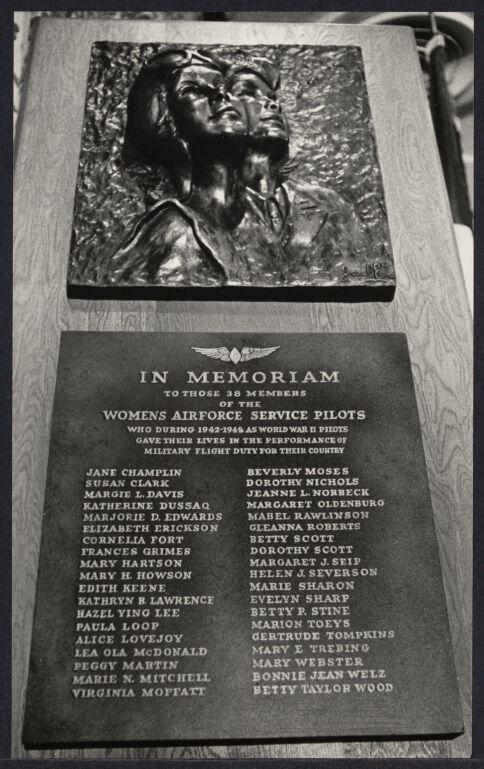 World War II Air Force plaque