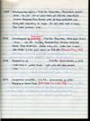 Stefan Cover Field Notes Vol. 5, pg.57. Scanned on 2014-08-29; hard copy may have been updated.