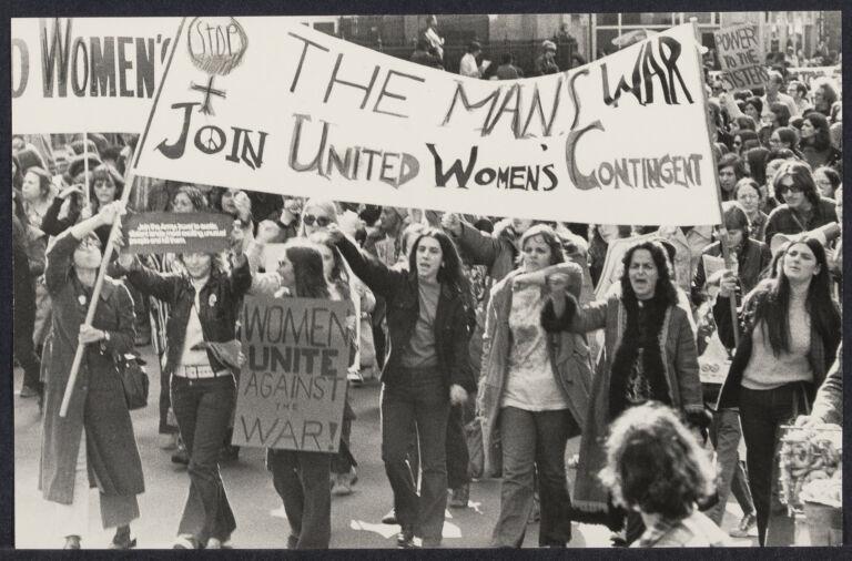 Anti-war demonstration in Washington, D.C.
