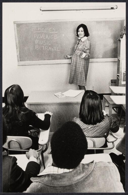 Pregnant Teacher
