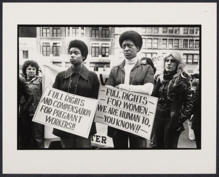 International Women's Year march