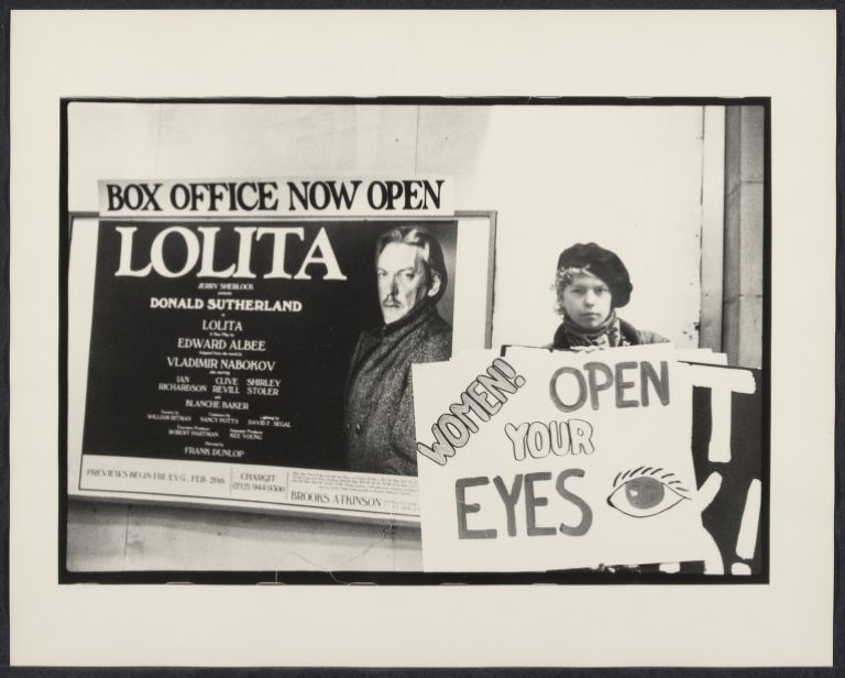 "Anti-""Lolita"" demonstration"