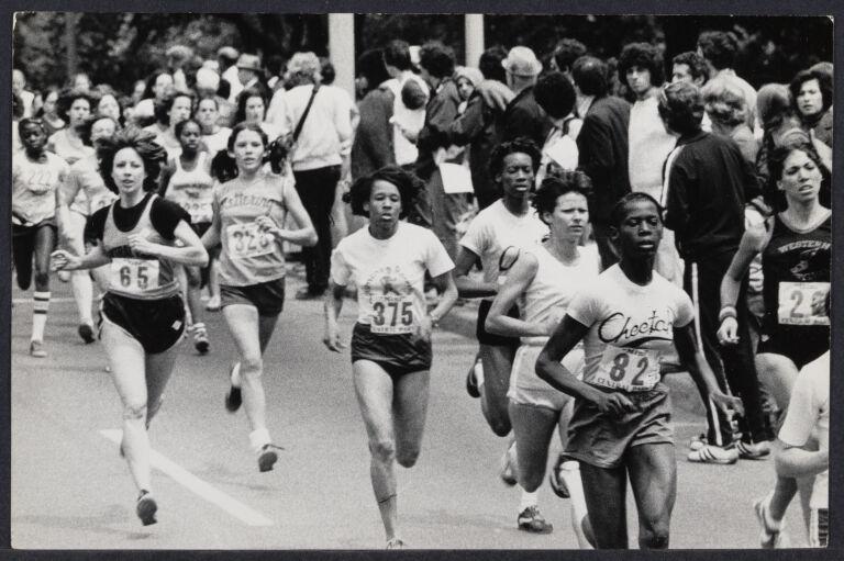 Women's marathon in NYC
