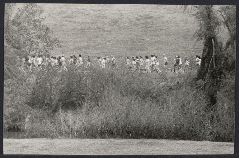 Runners during Houston International Women's Year