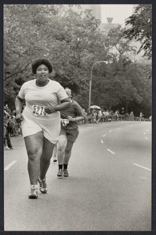 """Obese woman"" running in mini marathon"