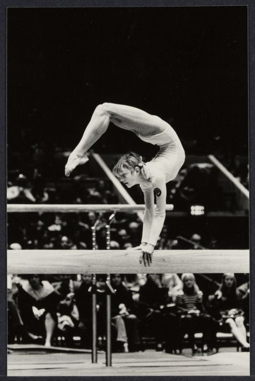 Gymnast Olga Korbut at Madison Square Gardens