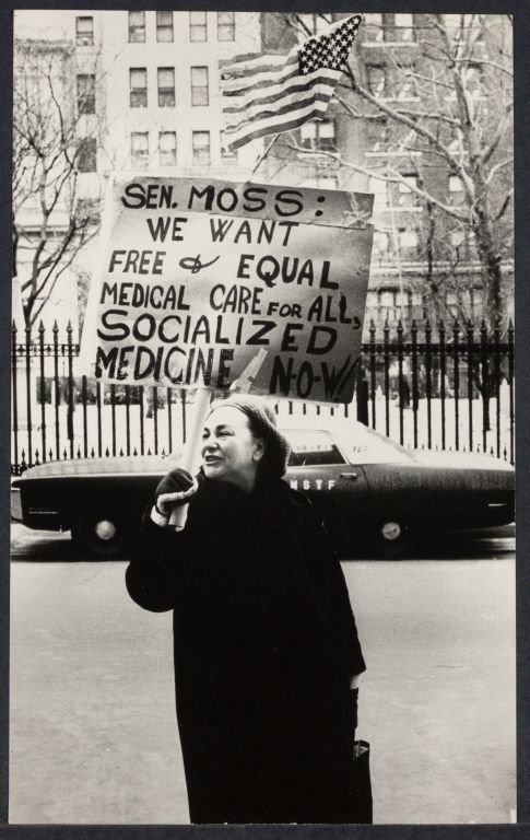 Elderly demonstration for socialized medicine