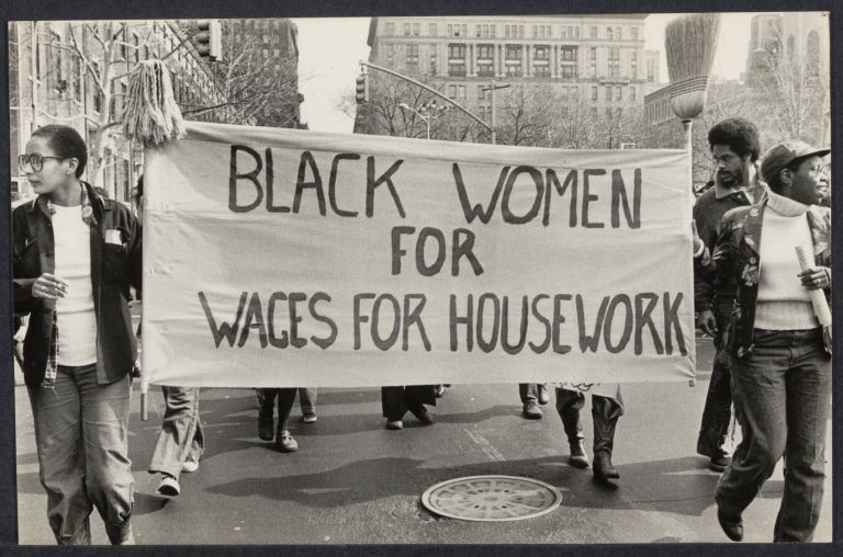 Wages for Housework at International Women's Day march