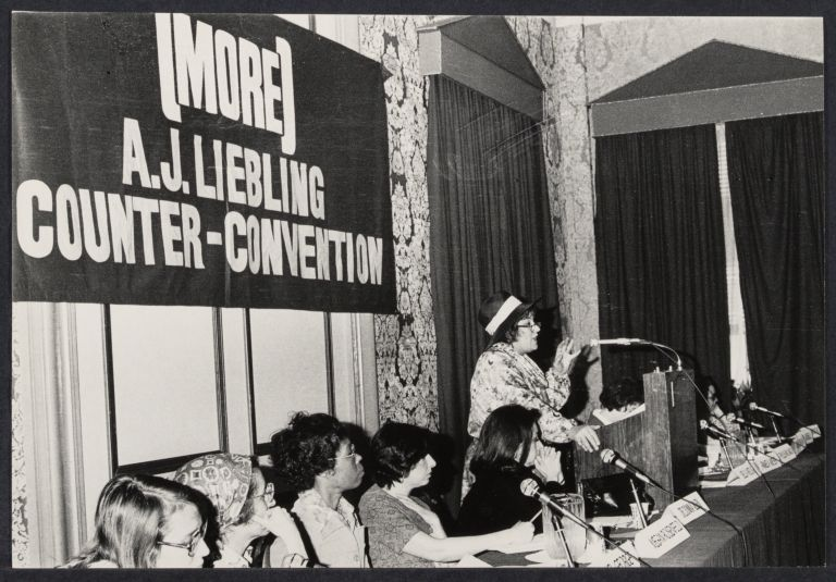 More Media conference (Liebling conference) with Bella Abzug