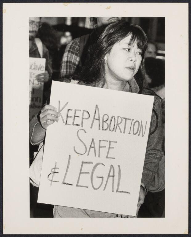 """Anti-human life amendment"" demonstration"