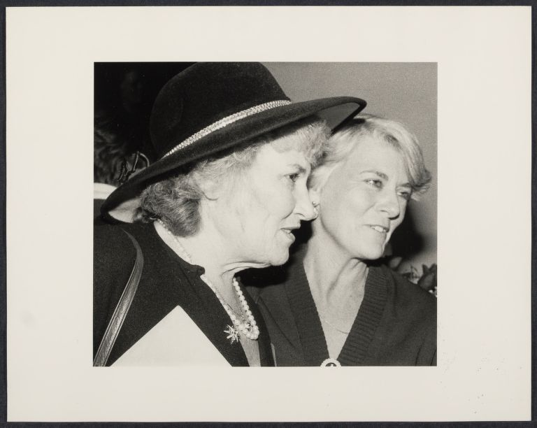 Party for Geraldine Ferraro with Bella Abzug