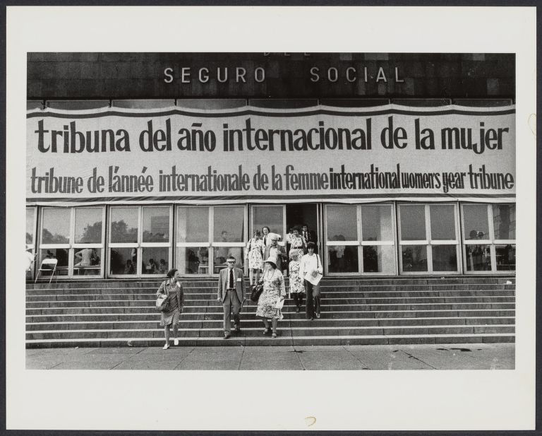 International Women's Year conference in Mexico City (Bella Abzug)