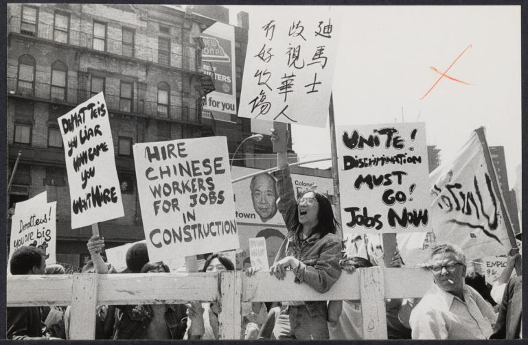 Chinese demonstrate for jobs