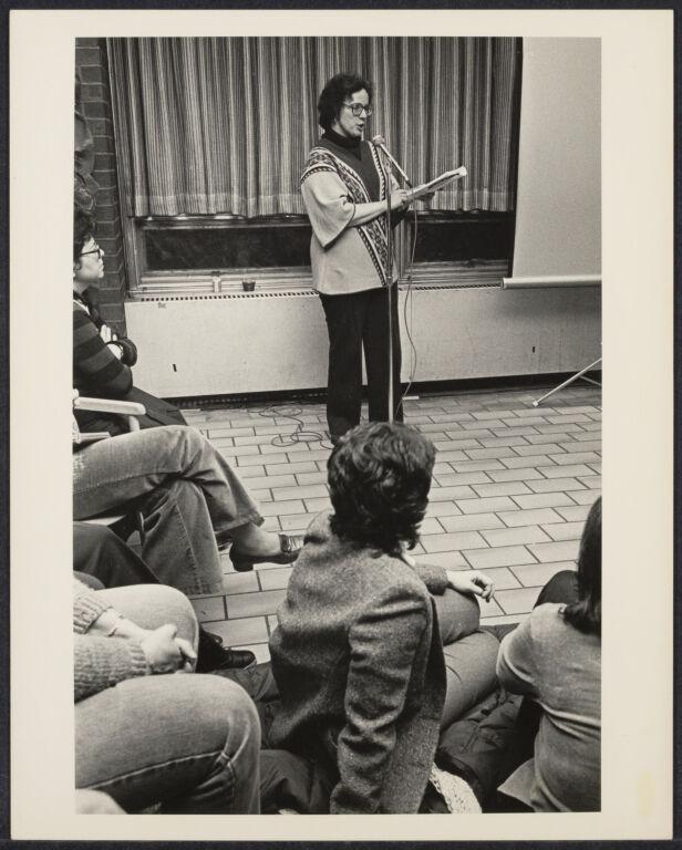 Virginia Scott, poet attending Cerridwen Salon in New York