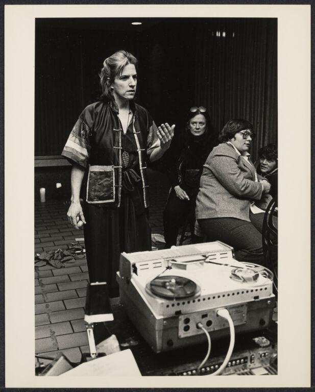 Betsy Damon, ritualist at Cerridwen Salon