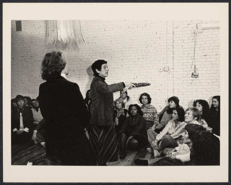Susan Schwalb and women attending the Cerridwen Salon