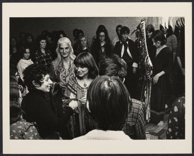 Women attending the Cerridwen Salon