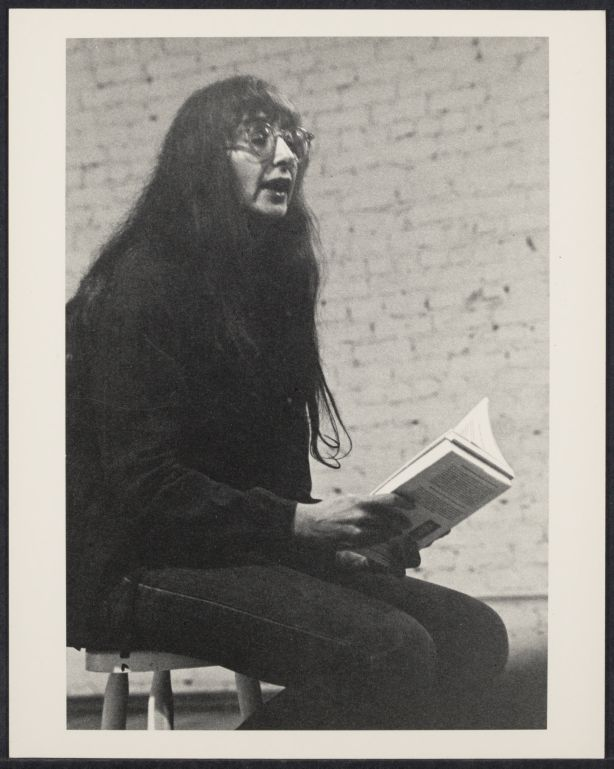 Merlin Stone reading Ancient Mirrors of Womanhood, vol. II