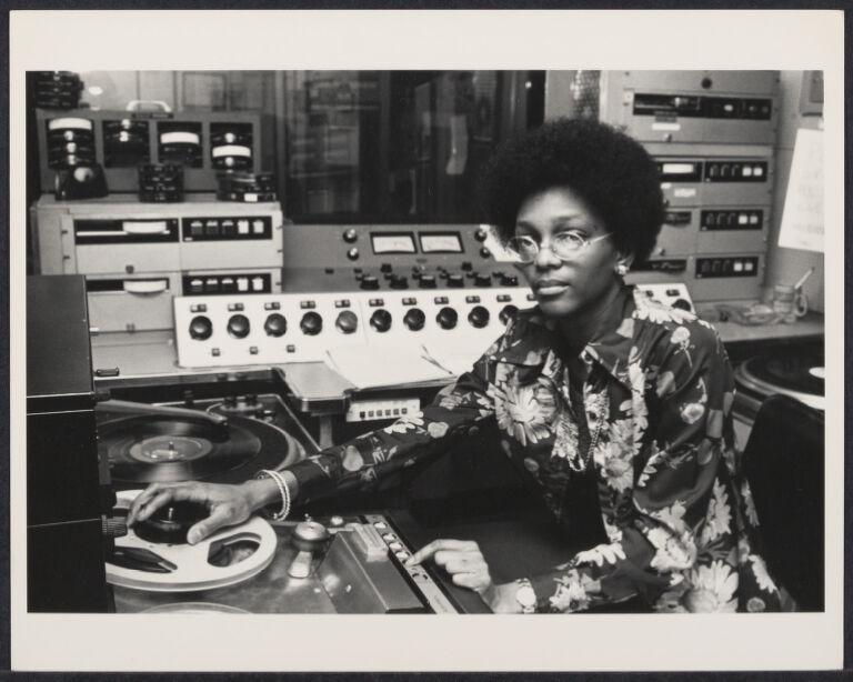 Sound engineer at radio station WMCA New York
