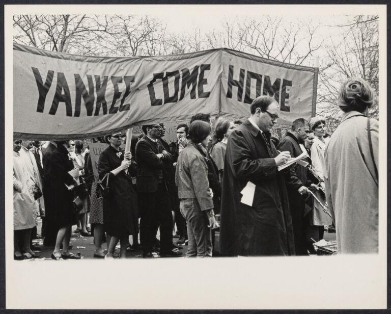Anti-Vietnam demonstration, New York City